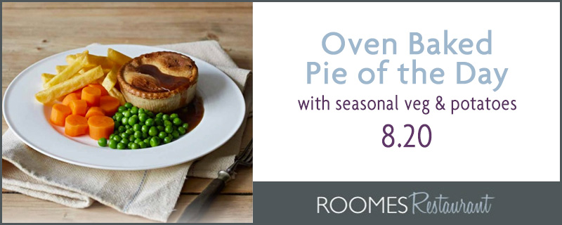 Oven Baked Pie of the Day