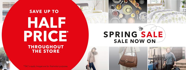 Spring Sale Starts Tomorrow